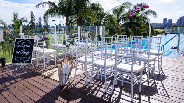 a wedding venue in Crowne Plaza Perth