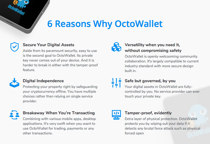 6 reasons why octowallet