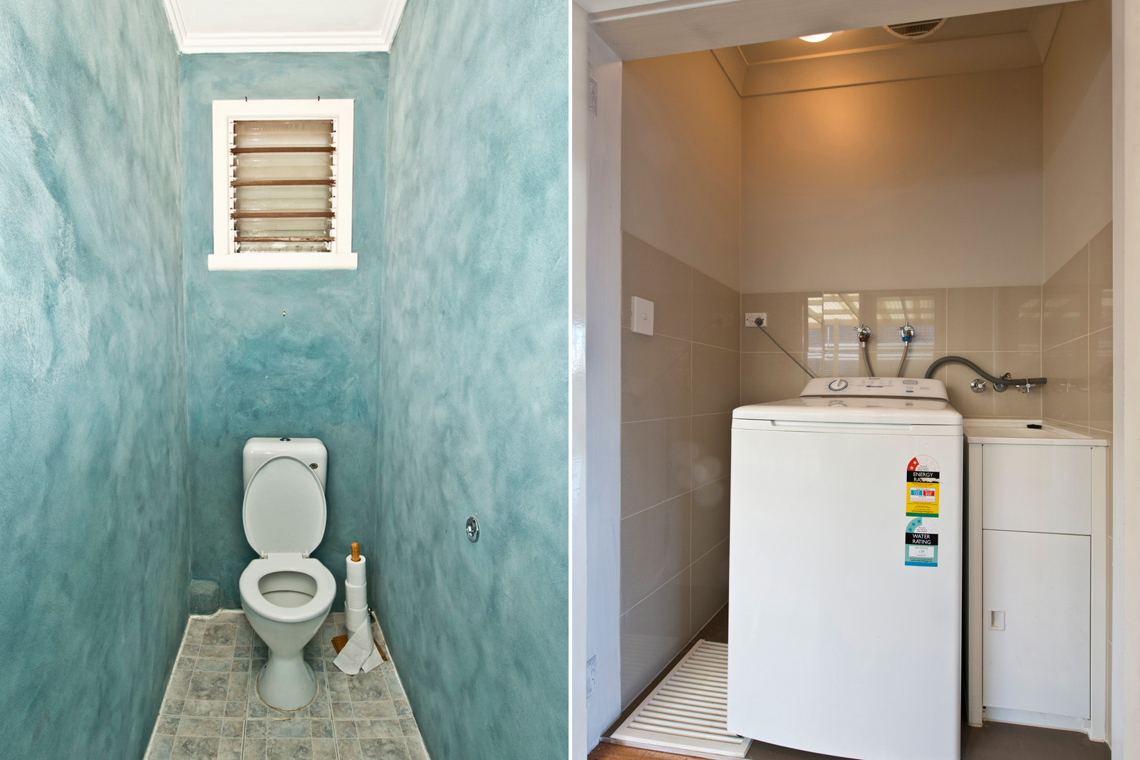 Cherie-Barber_Renovating-For-Profit_Altona-Meadows_Toilet-Laundry-Before-After