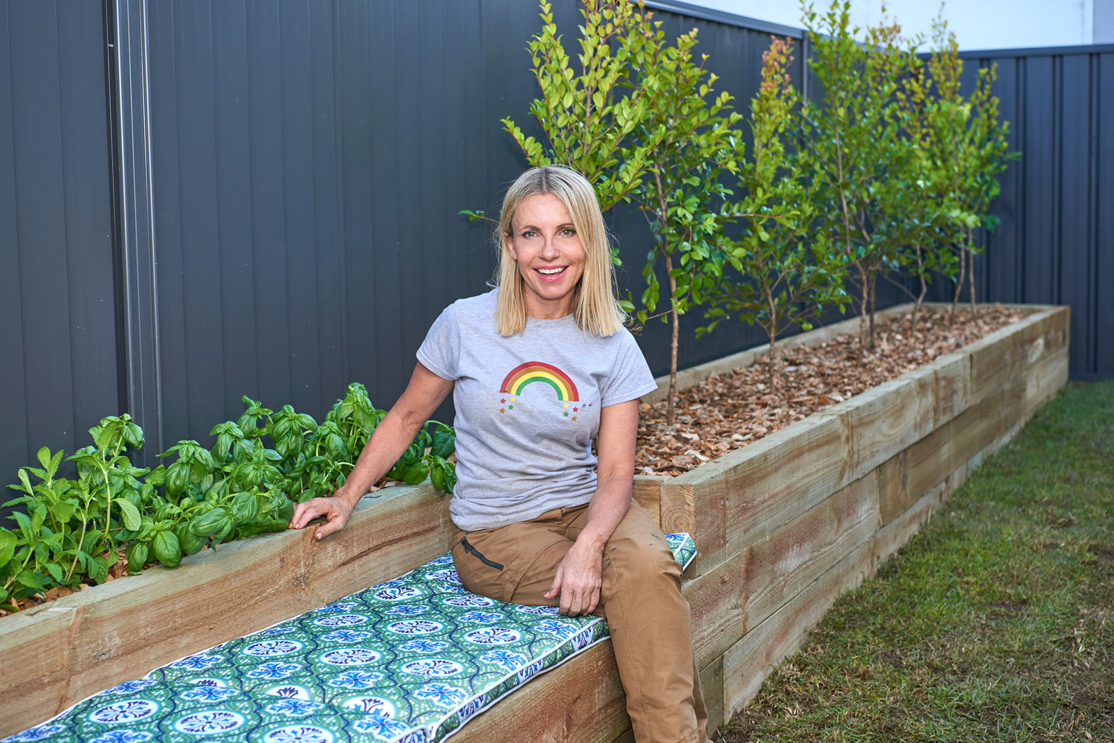 Cherie-Barber_Renovating-For-Profit_Backyard-Makeover-Garden-Bench