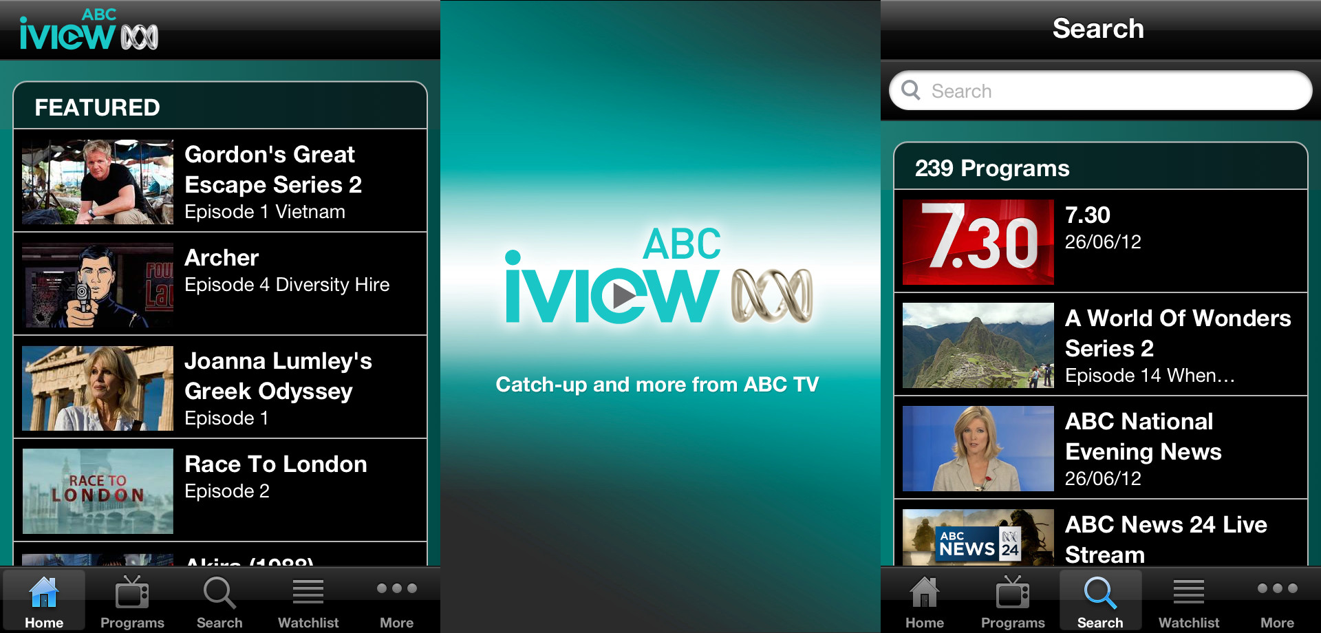 Abc iview on android phone