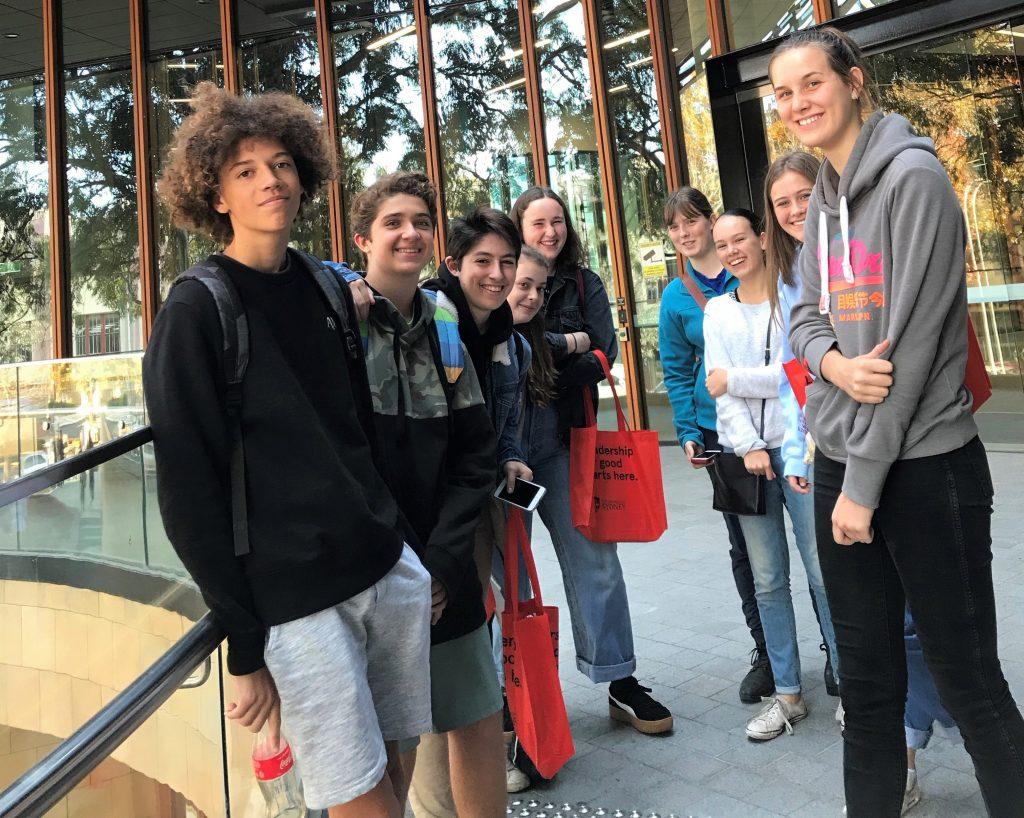 igs-french-students-at-sydney-uni-2
