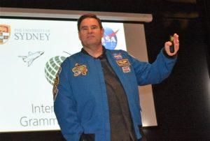 Astronaut Greg Chamitoff inspires IGS students