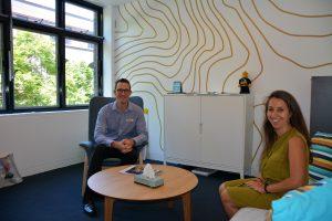 IGS counselling team Joe Degeling and Dr Tamara Kezelman