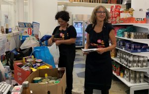 The Food Pantry donations