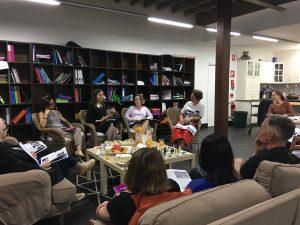 Principal Shauna Colnan, parents and caregivers at the PTF