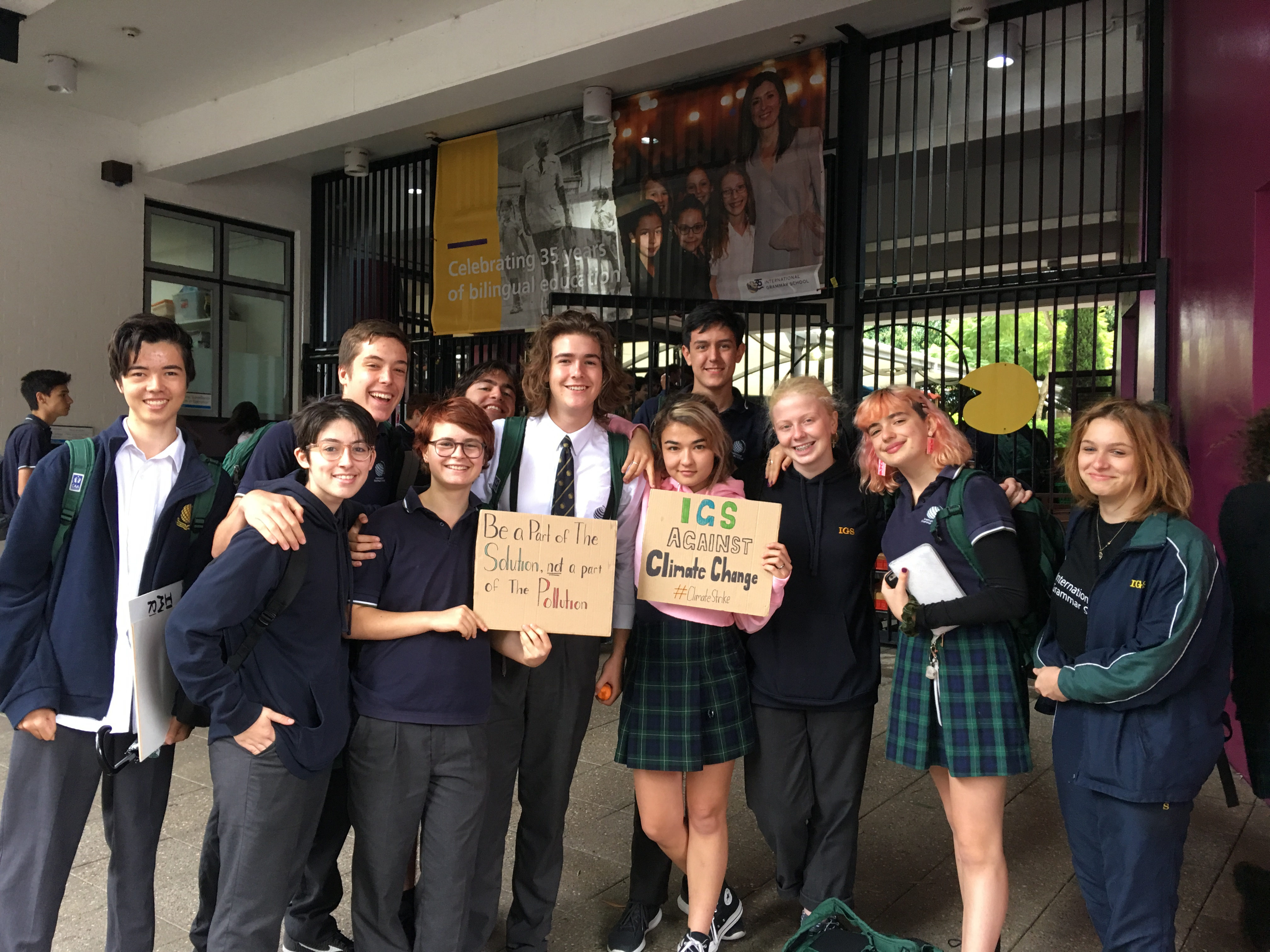 Students act on climate change