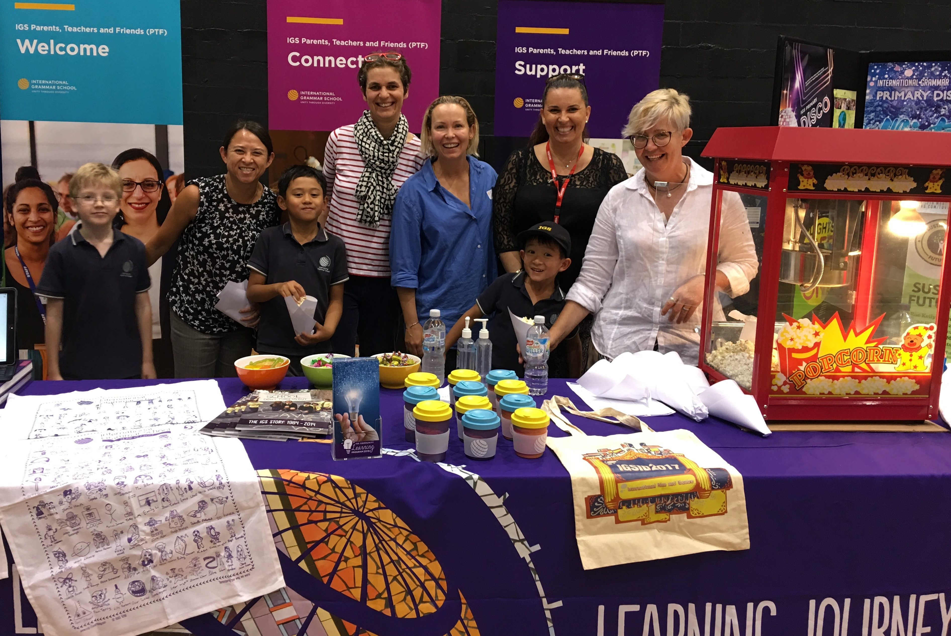 PTF welcomes parents at IGS Open Night