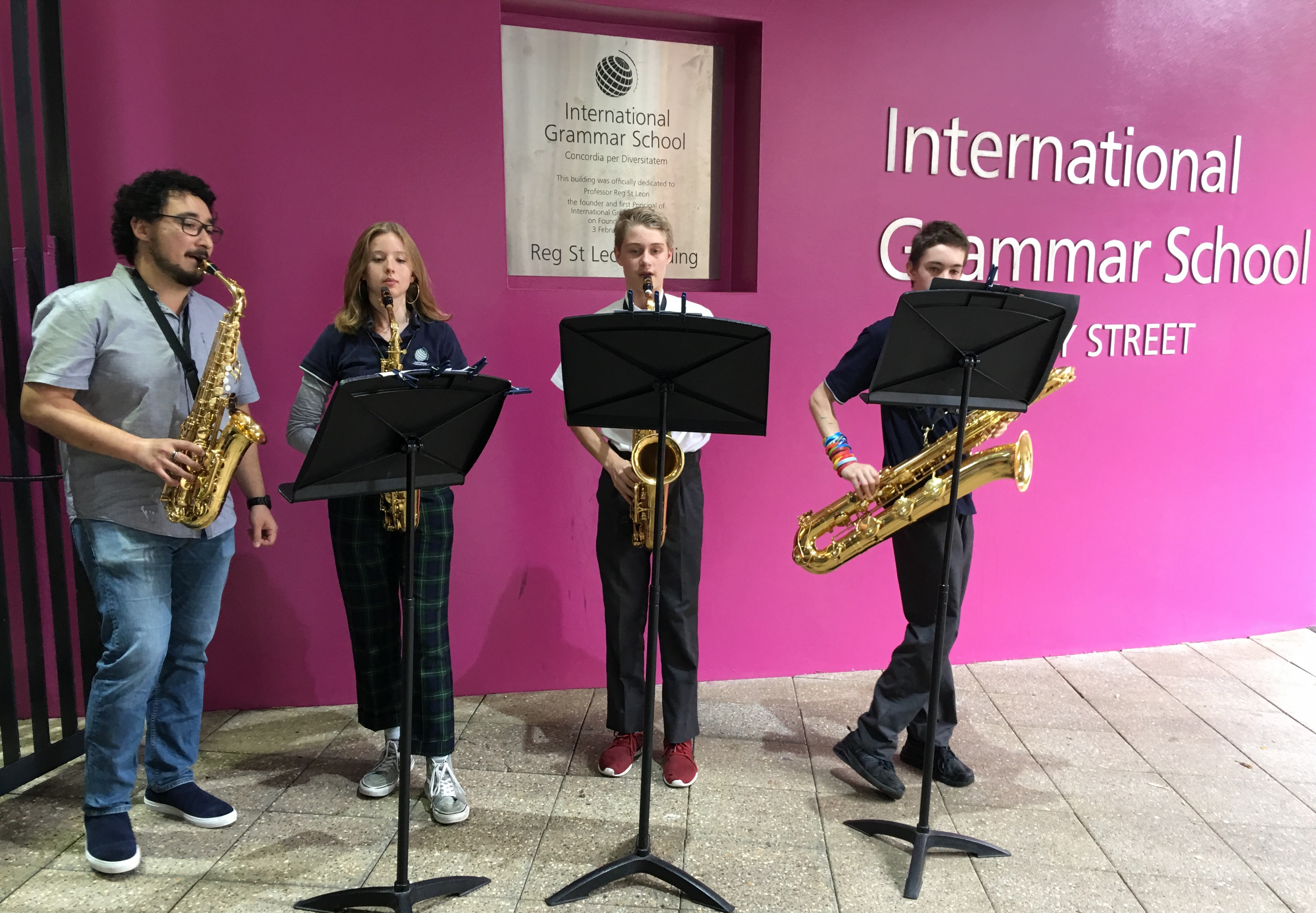 Music on show at IGS