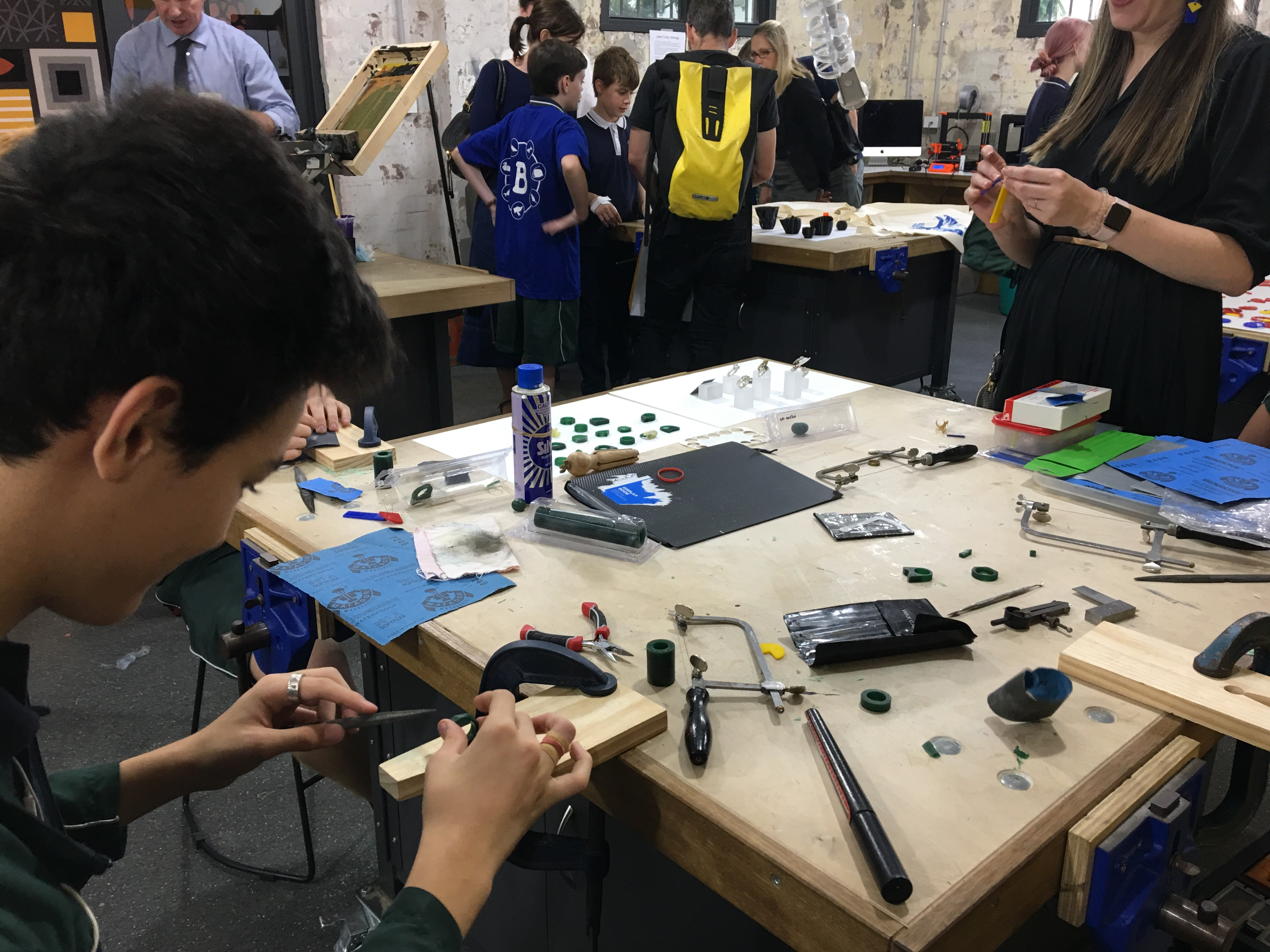 Design and Technology on show at IGS Open Night
