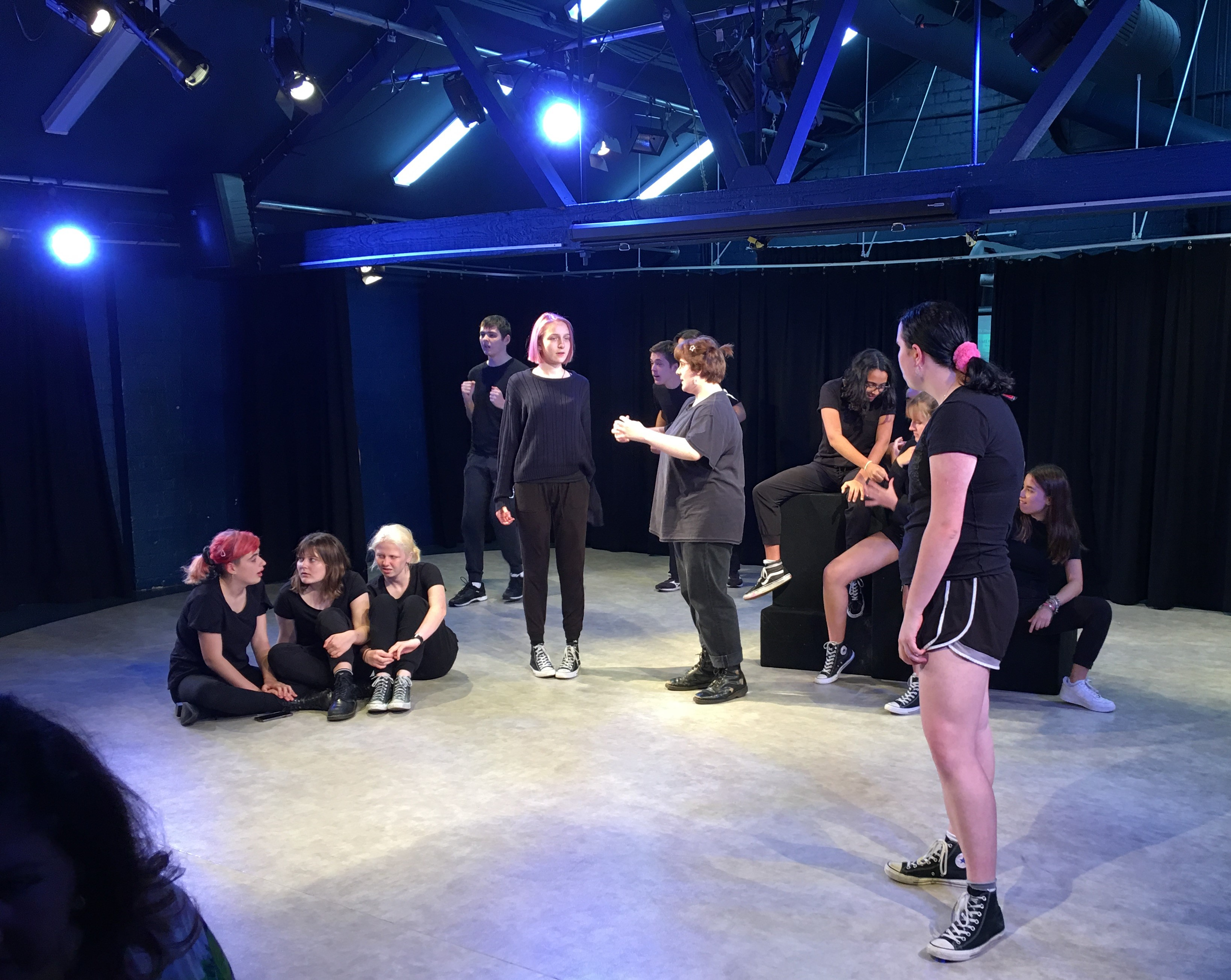 Drama on show at IGS Open Night