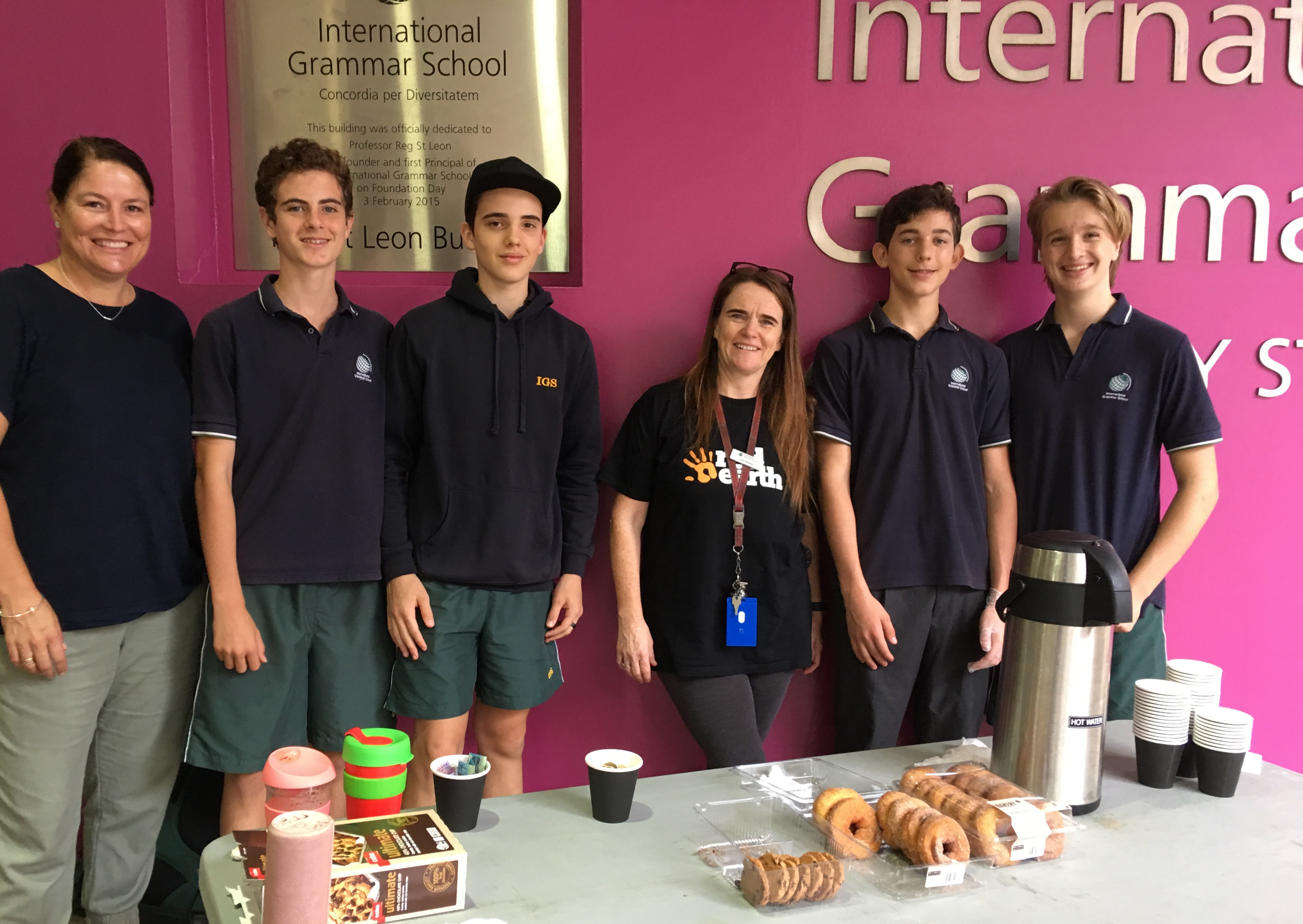 IGS Red Earth expedition fundraising