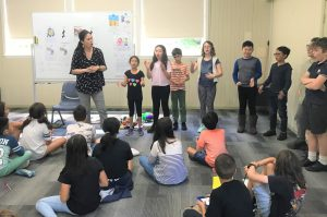 Japanese language camp games