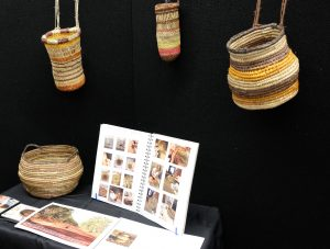 weaving by Ivy Jones-Evans