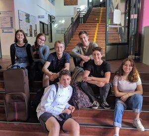 IGS students involved in CSIRO digital careers video