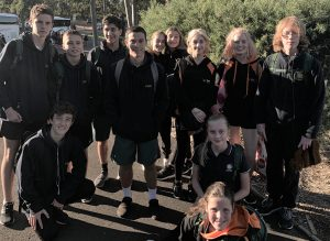 IGS Cross Country team