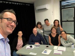 IGS Director of Counselling Services delivers Youth Mental Health First Aid Course