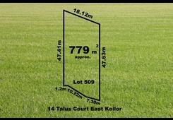 14 (Lot 509) Talus Court Keilor East