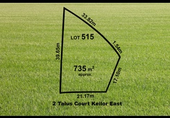 2 (Lot 515) Talus Court Keilor East
