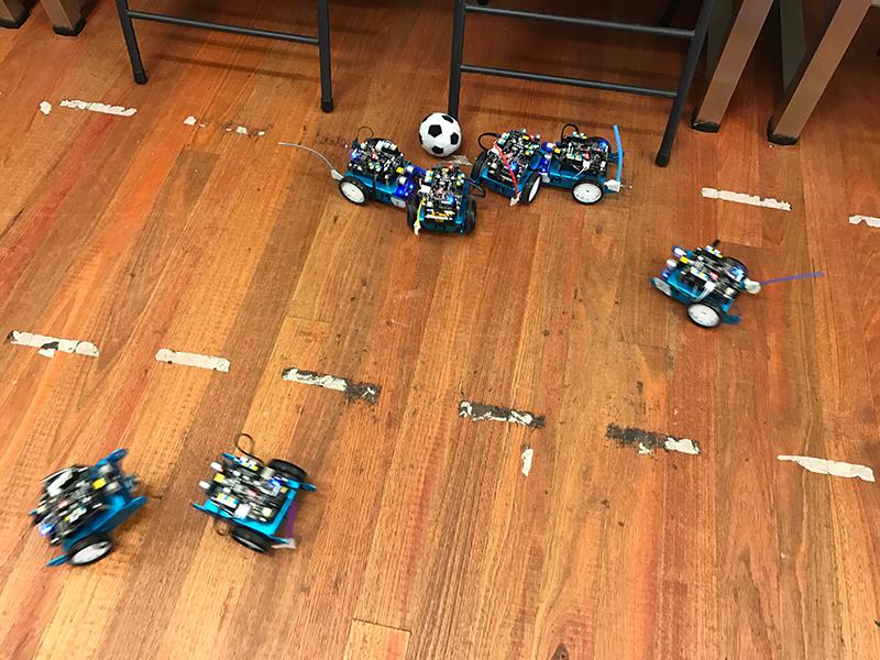 mBot Soccer