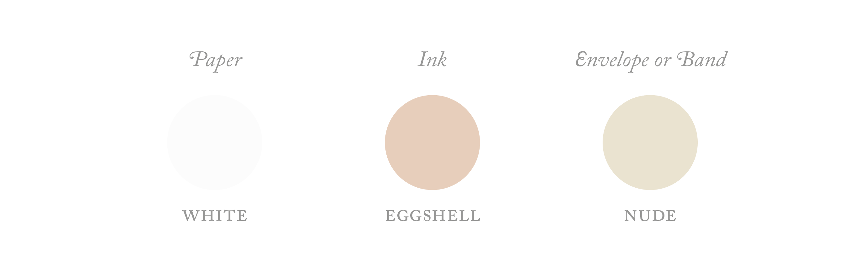 eggshell colour palette