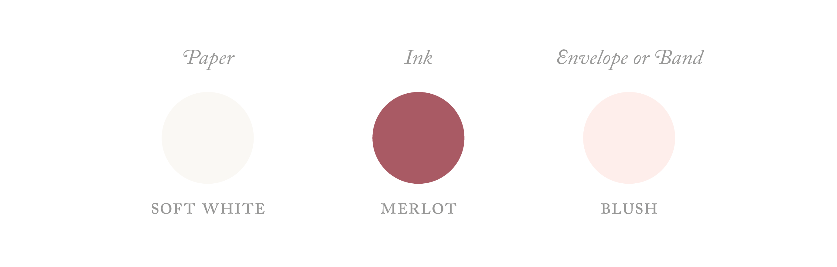 merlot colour palette