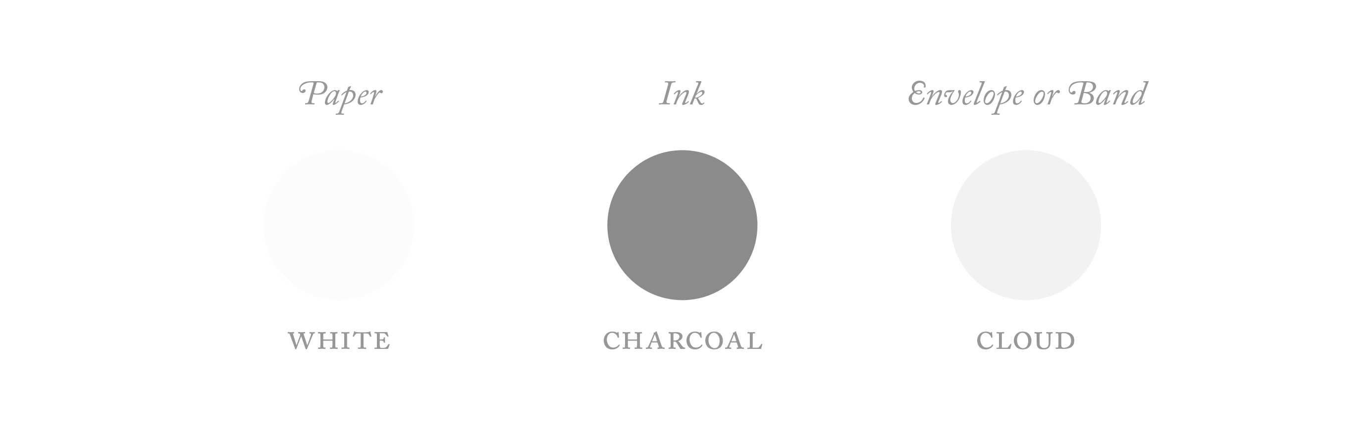 charcoal colour palette