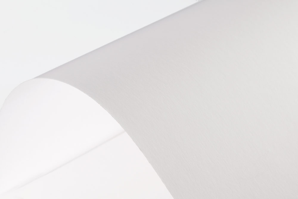 semi gloss paper White vellum bristol card stock with a smooth texture 92 brightness rating for impressive color printing 67 lb for sturdy and versatile projects.