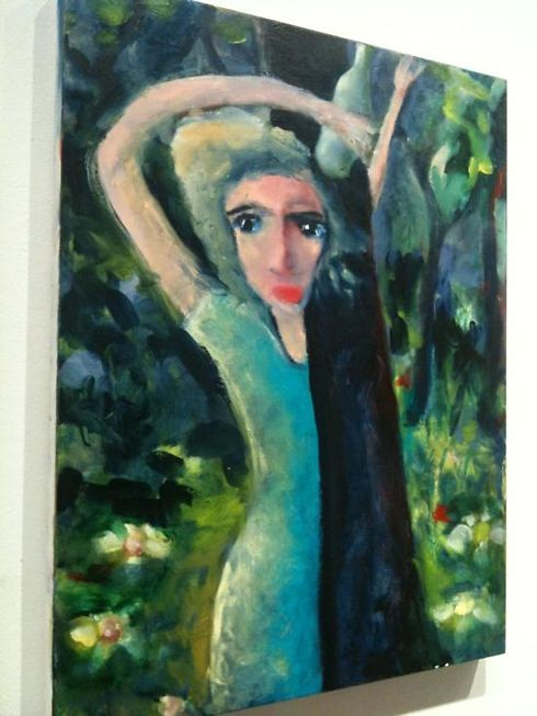 One of my favorites was this image of the woman who almost appears to be dancing whimsically, bottle in hand and hugging a tree.