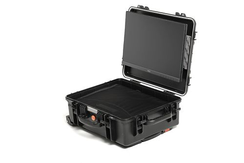 The SW240 mounted in the case