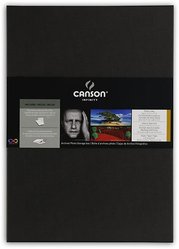 Canson Infinity Archival Storage Box Master Image