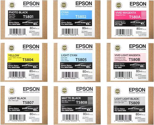 Epson Stylus Pro 3880 Inks Master Image