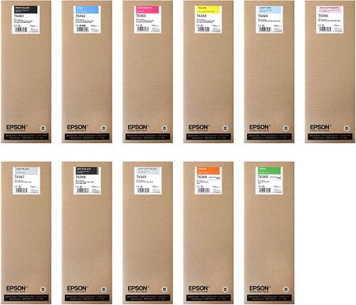 Epson Stylus Pro 7900 & 9900 700ml Inks Master Image