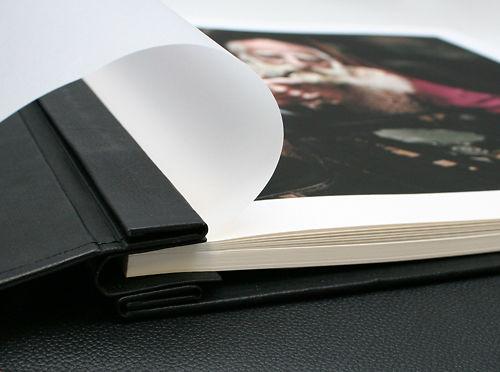 Hahnemühle Leather Inkjet A4 Album Master Image