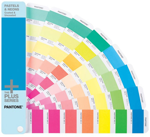 Pantone Pastels and Neons Coated and Uncoated Master Image