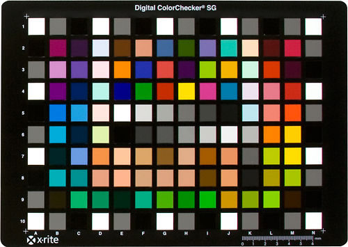 X-Rite ColorChecker Digital SG Master Image