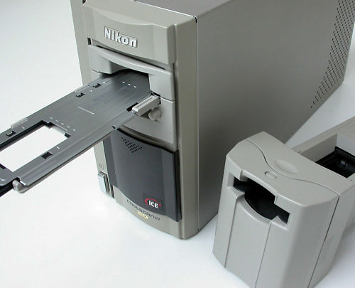 (this is a Coolscan IV - ours is the better 400OED - looks the same!)