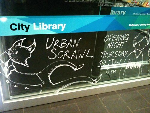 Urban Scrawl Exhibition