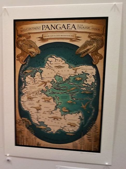 Richard Morden, 'The Supercontinent of Pangaea'.