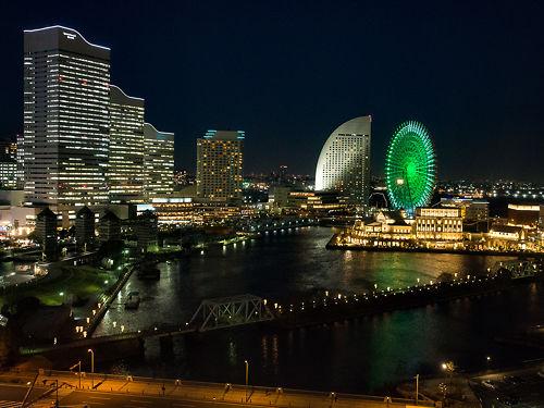 View over Yokohama Bay