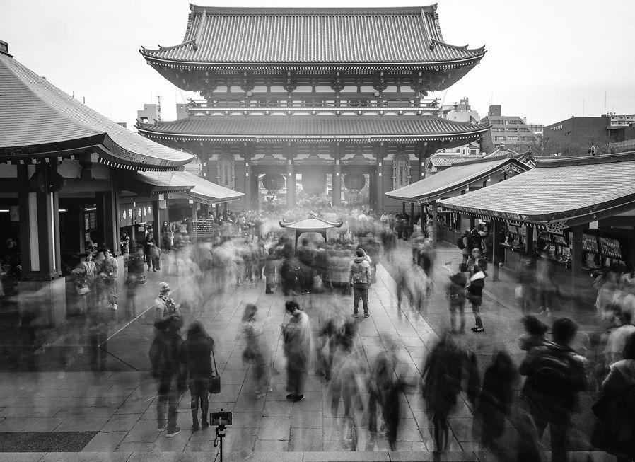 Sensō-ji Temple, by Dan Avila