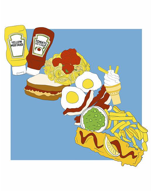 Aleisha Earp - Mustard and Ketchup