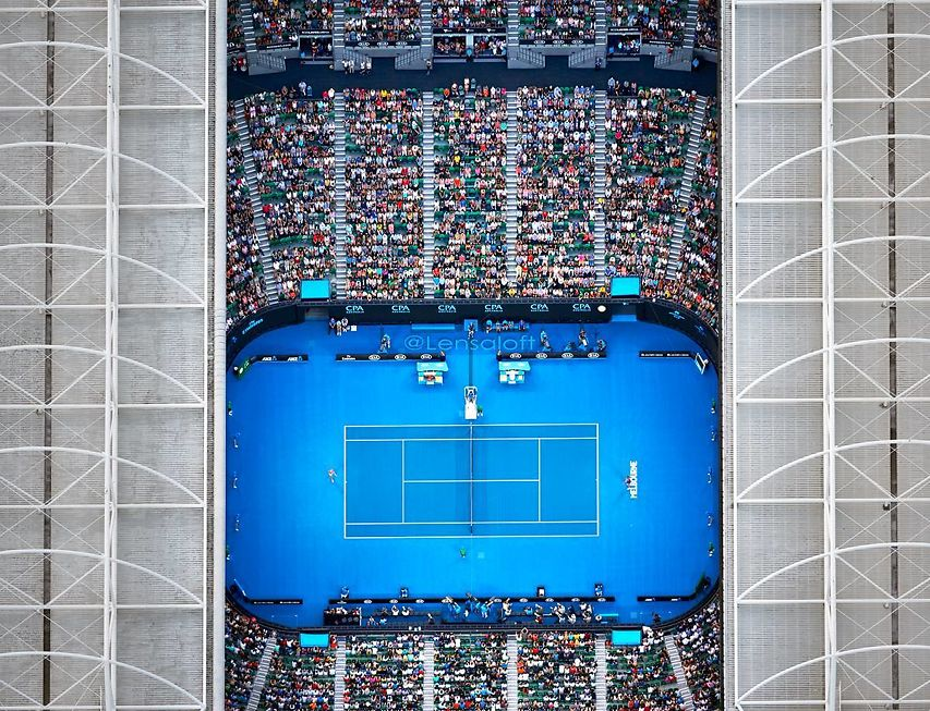 Andrew Griffiths Lensaloft Australian Open