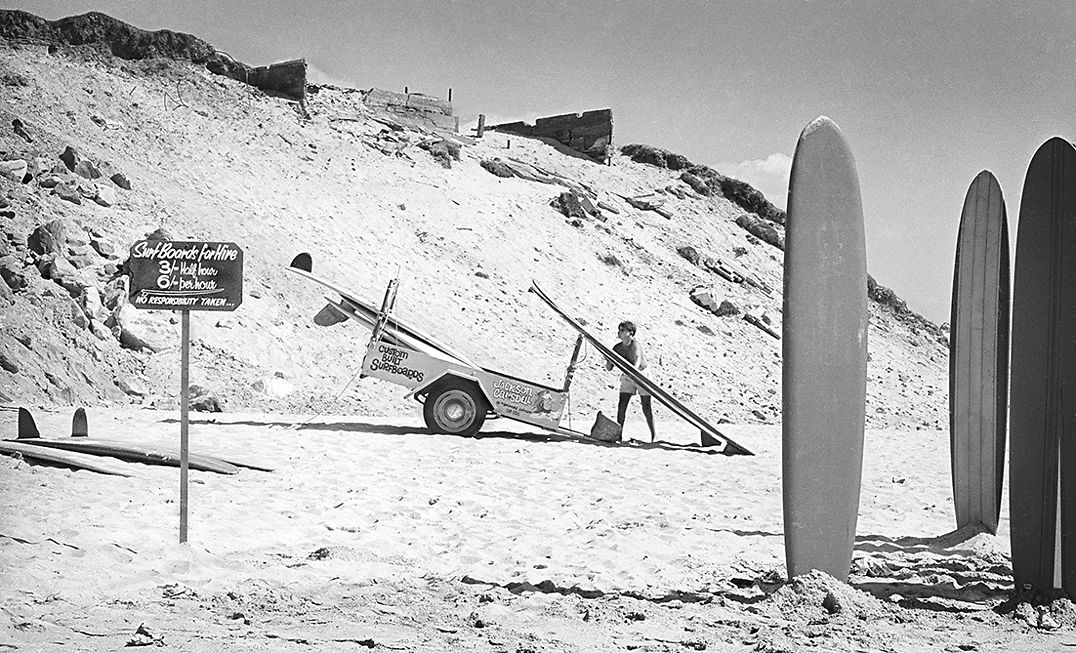Board Hire, Cronulla. 1963