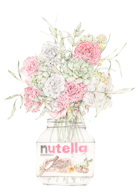 Nutella And Blooms A2