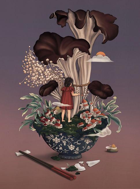 Mushroom (Untitled) - Chloe Shao