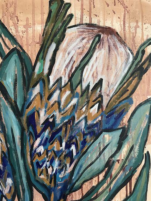 Protea 2 (detail) 2018