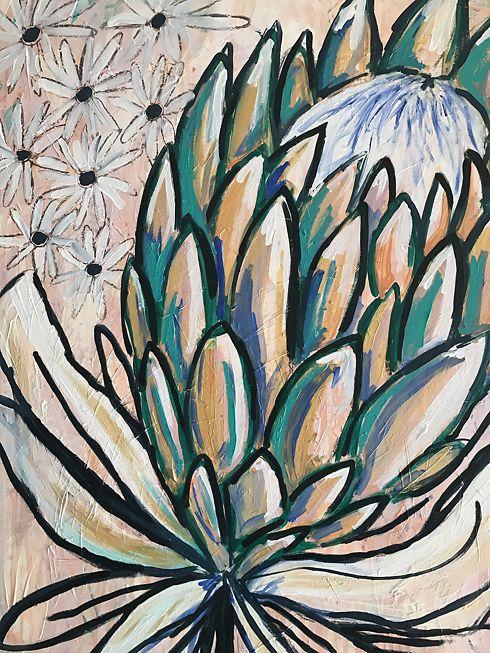 Protea (detail) 2017