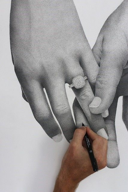 Kris Hartas Hand Detail