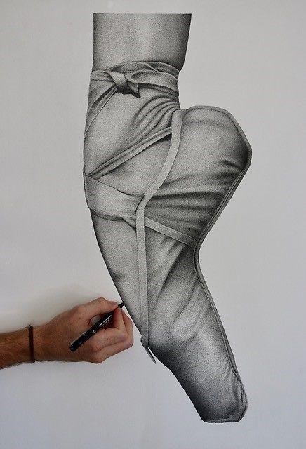 Kris Hartas Ballet Shoe Detail